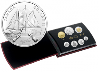 2021 - Special Edition Silver Dollar Set - 100th Anniversary of Bluenose