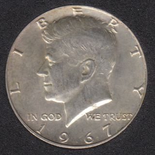 1967 - Kennedy - 50 Cents