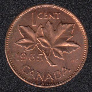1965 - #1 B.Unc - SBP5 - Canada Cent