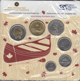 2013 Canada Commemorative Coin and Medal Set - World Money Fair Berlin