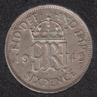 1942 - 6 Pence - Great Britain
