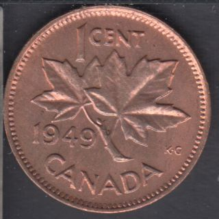 1949 - B.Unc - Stain - Canada Cent