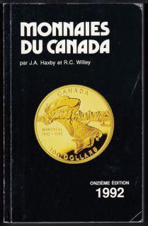 1992 - Monnaies du Canada - Haxby Willie - Usagé