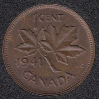 1941 - Brown Unc - Canada Cent