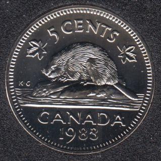 1983 - NBU - Canada 5 Cents