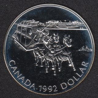 1992 - NBU - Silver .925 - Canada Dollar