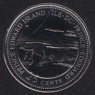 1992 - #7 NBU - Ile du Prince Edouard - Canada 25 Cents