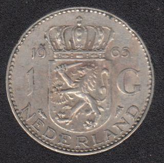1965 - 1 Gulden - Pays-Bas