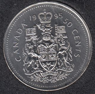 1995 - B.Unc - Canada 50 Cents