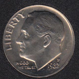 1982 P - Roosevelt - B.Unc - 10 Cents