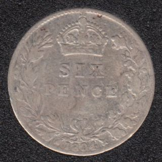 1894 - 6 Pence - Great Britain