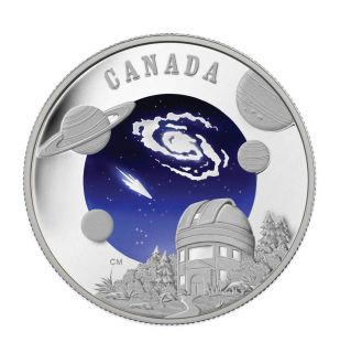 2009 - $30 - Sterling Silver Coin - International Year of Astronomy