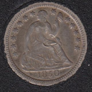 1850 - Liberty Seated - Half Dime