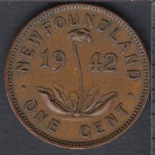 Newfoundland - 1942 - 1 Cent