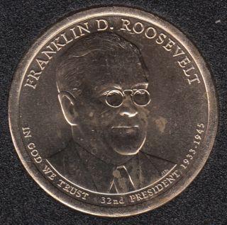 2014 D - F.D. Roosevelt - 1$