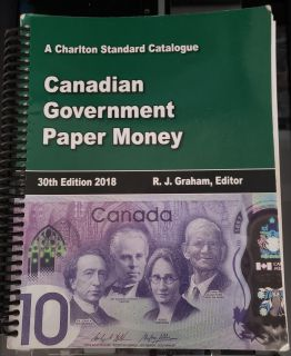 2018 - Charlton - Standard of Canadian Government Paper Money - Usagé