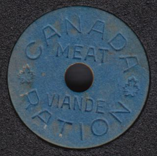 Canada Meat Ration