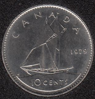 1979 - B.Unc - Canada 10 Cents