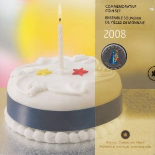 2008 - Gift set Commemorative Happy Birthday