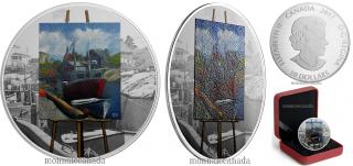 2017 - $20 - 1 oz en argent pur - Peinture en plein air: Souvenir des Maritimes