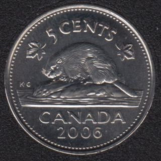 2006 P - B.Unc - Canada 5 Cents