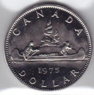 1975 - Proof Like - Nickel - Canada Dollar