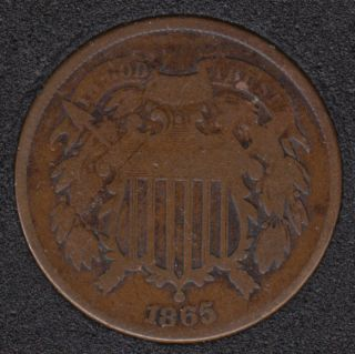1865 - Shield - Two Cents