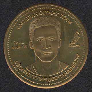 2002 - Coca Cola - Paul Kiriya - Equipe Canada Olympique