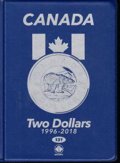 $2.00 Canada Uni-Safe Album (Two Dollars) 1996-2018