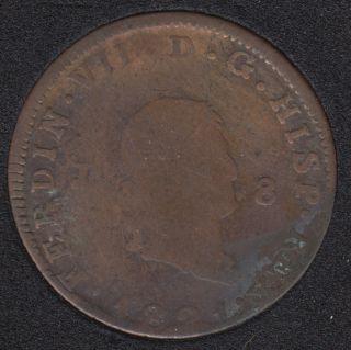 1821 - 8 Maravedis - Espagne