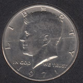 1971 - Kennedy - 50 Cents