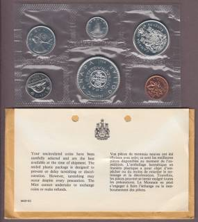1964 - Dollar '' Missing Dot '' - PROOF LIKE SET