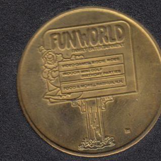 Arcade - Fun World - No Cash Value - Gaming Token