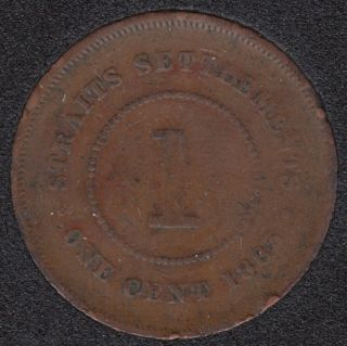 1883 - 1 Cent - Straits Settlements