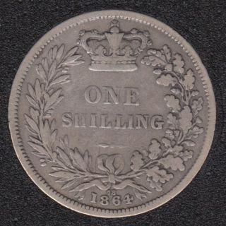 1864 - Shilling - Grande Bretagne