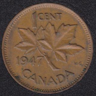 1947 - Canada Cent
