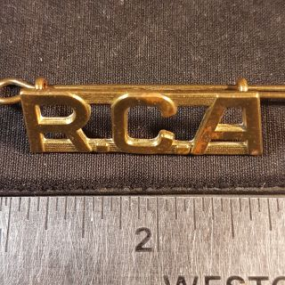 #138 RCA WW1 Canadian Army Royal Canadian Artillery Canada Corps Shoulder Title
