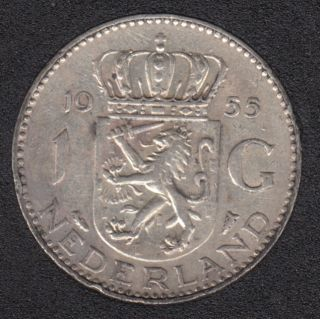 1955 - 1 Gulden - Netherlands