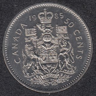 1985 - B.Unc - Canada 50 Cents