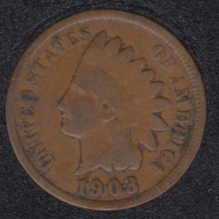 1903 - Indian Head Small Cent