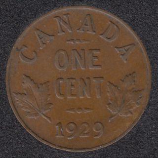 1929 - VF - Canada Cent