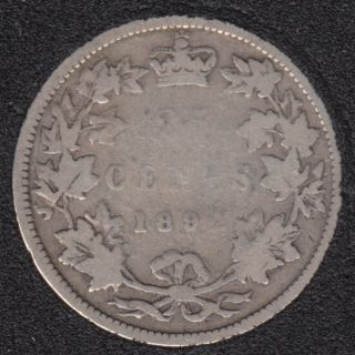1892 - Canada 25 Cents