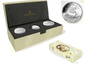 2006 BABY Keepsake Tins & Sterling silver Dollar Set *LOW MINTAGE*