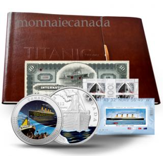 2012 Titanic Deluxe Coin and Stamp Set