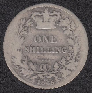 1865 (30) - Shilling - Great Britain