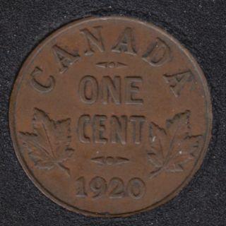 1920 - VF - Canada Cent
