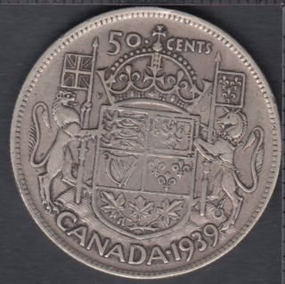 1939 - Canada 50 Cents