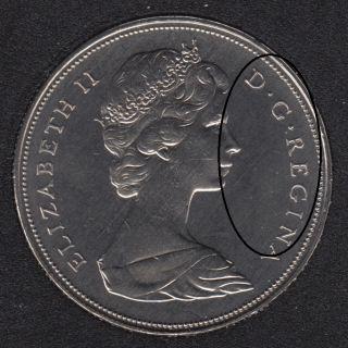 1968 - Proof Like - Double 'D R REG' - Nickel - Canada Dollar