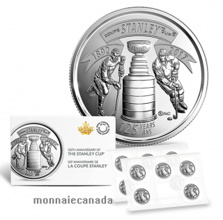 2017 - 25 cent - Circulation Coin 125th Anniversary of the Stanley Cup® Ten Coin Pack