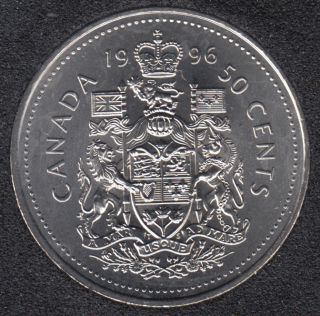 1996 - B.Unc - Canada 50 Cents